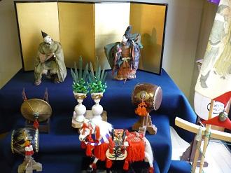 2010古い五月人形の展示会(2)