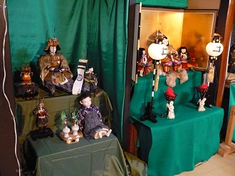 2010古い五月人形の展示会(1)