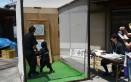上野三之西町の手裏剣道場は、集議所前にも開設されます