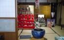 和菓子屋さんの店内のおひなさん
