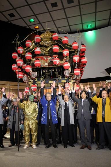 上野天神祭登録決定161201